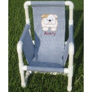 Child's PVC Pipe Chair Pattern