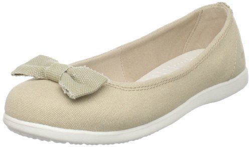 bow flats crocs Womens Skimmer Ballet Flat,Sand/Oyster,11 M US: Shoes