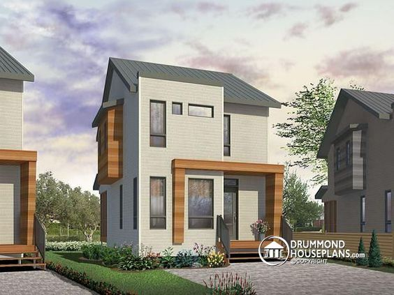 Peachy W1700 Comfortable Small 976 Sq Ft Tiny House Plan 3 Bedrooms Largest Home Design Picture Inspirations Pitcheantrous