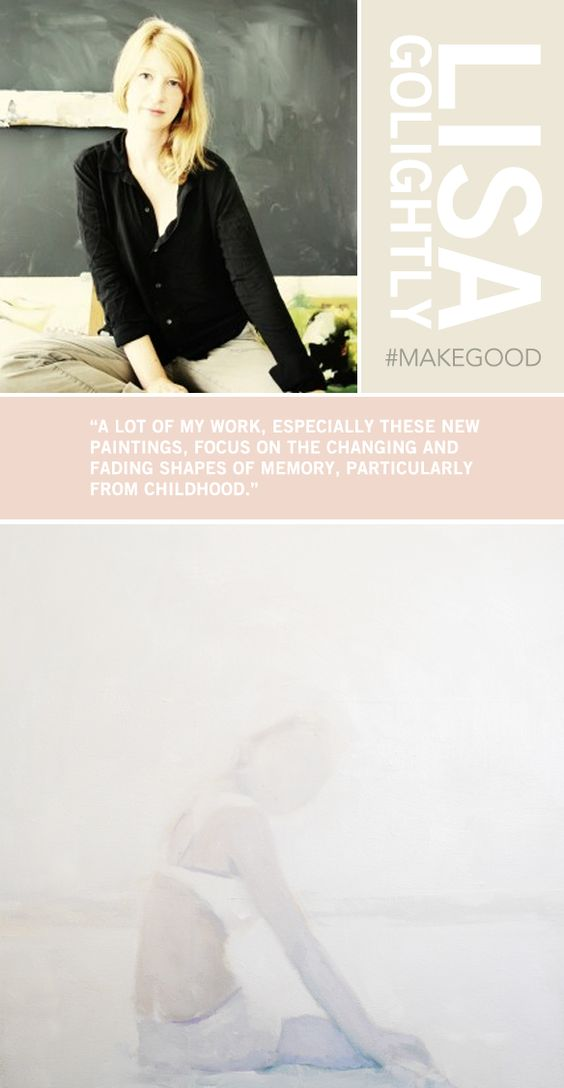 Lisa Golightly - paintings <3 #makegood