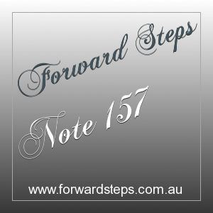 Forward Steps 365 Life Power Notes #157