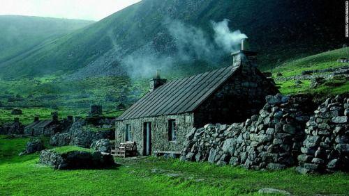 Medieval, St.Kilda, Scotland photo via cnn - I could so live there!!