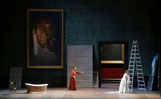 I Capuleti e i Montecchi from Teatro Filarmonico di Verona. Production by Arnaud Bernard. Sets by Alessandro Camera.