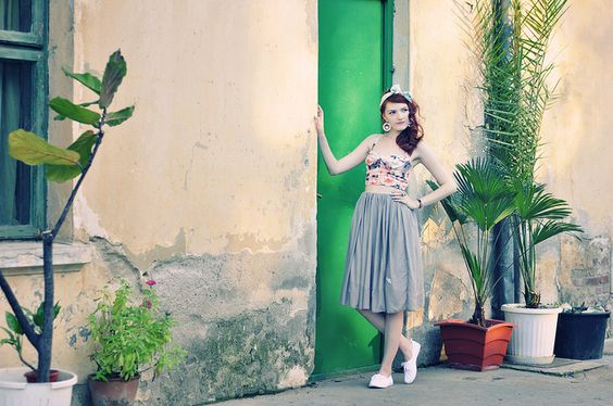 retro_garden_outfit by Hearabouts, via Flickr
