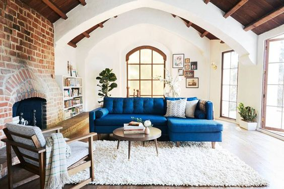 Stunning home that mixes old world charm with a modern aethestic.