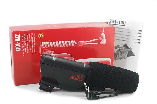 Canon ZM-100 Stereo Zoom Microphone for Optura MV1 New old stock
