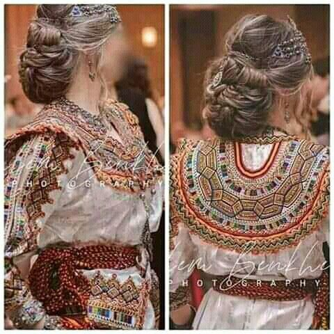 Pin By Fadwa 23 On Robes Kabyle Chinese Kimono Caftan Fashion