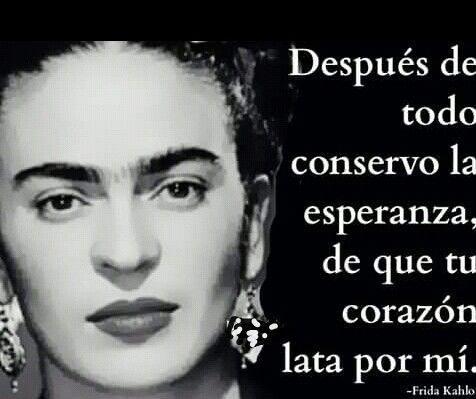 Ama A Quien Te Ame Como Frida Kahlo Magia Amor