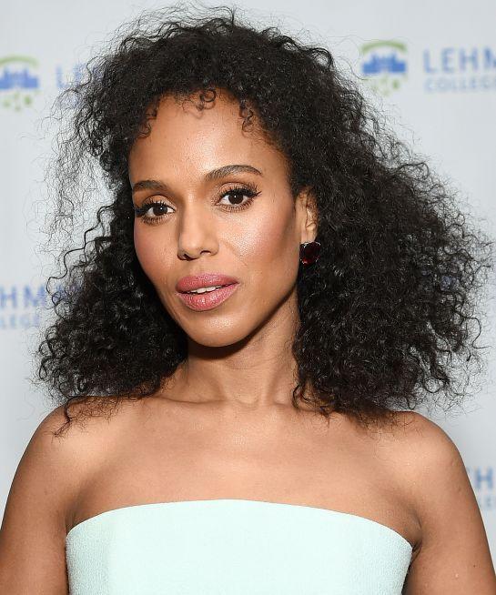 Celebrities That Rock Natural Hair Naturalhair Curls Hair Hairstyle Kerrywashington Beauty Natural Hair Styles Stylish Hair Womens Hairstyles