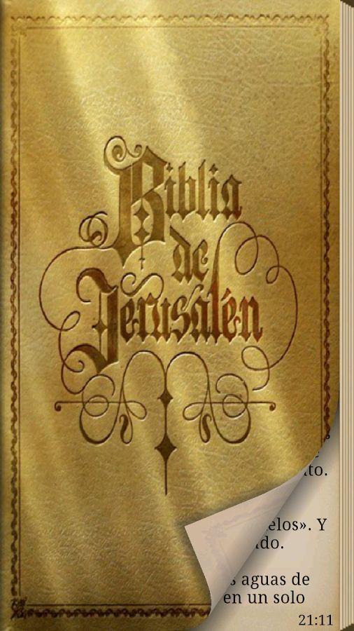 La Biblia De Jerusalén (Android) - Descargar