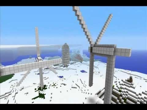 Minecraft: Wind Turbines