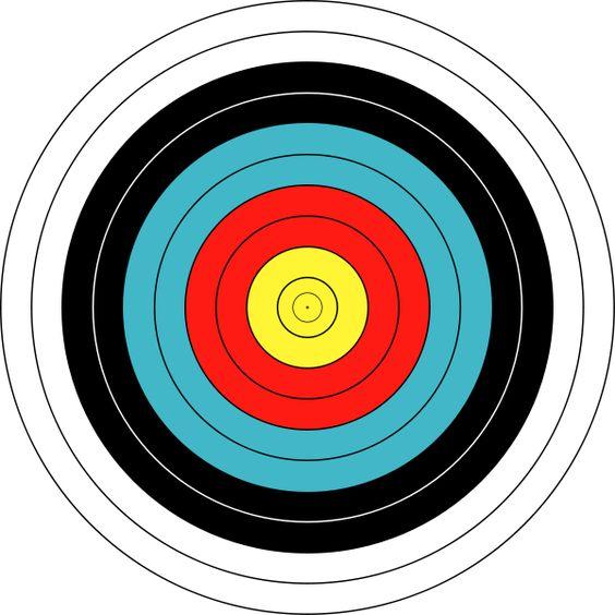 bow and arrow target diy christmas