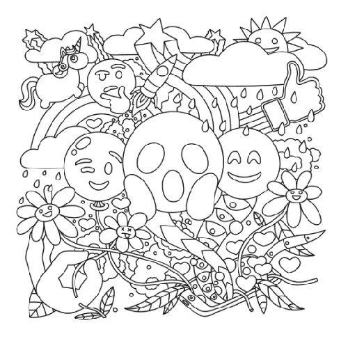 Fun Emoji Coloring Pages Printable 101 Coloring Emoji Coloring Pages Bear Coloring Pages Coloring Pages