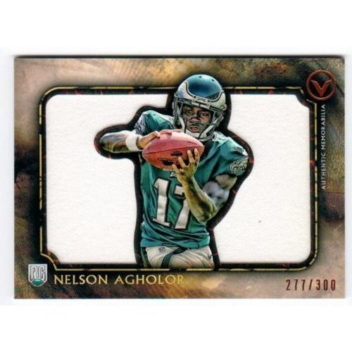 NFL 2015 TOPPS VALOR NELSON AGHOLOR GAME JERSEY RELIC /300 MNT