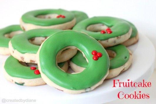fruitcake Cut Out Cookies@createdbydiane