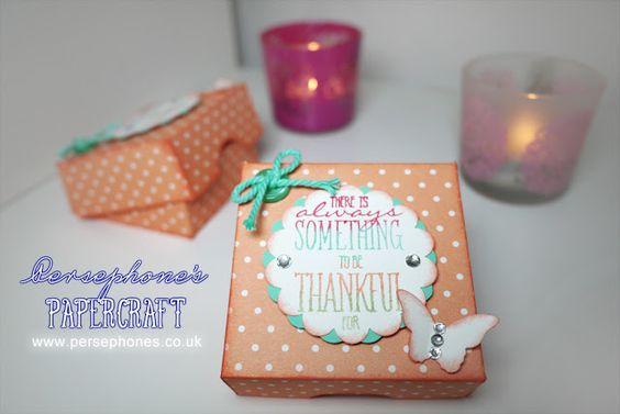 Persephone's Papercraft | Stampin' Up! UK Demonstrator Angel Armogida: May Customers' Kit | Stampin' Up (UK) with Perseph...