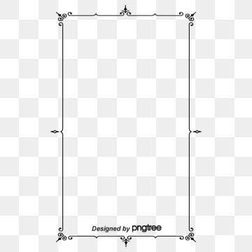 Simple Black Retro Line Square Border Border Clipart Rectangle Restoring Ancient Ways Png Transparent Clipart Image And Psd File For Free Download Vintage Borders Frame Clipart Graphic Design Background Templates