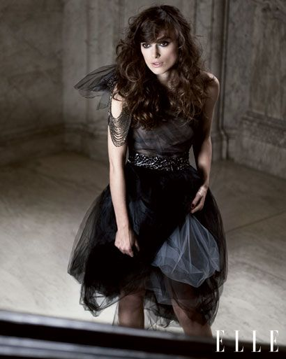 Loved this Vera Wang tulle dress worn by Keira Knightley in the March 2010 issue of ELLE