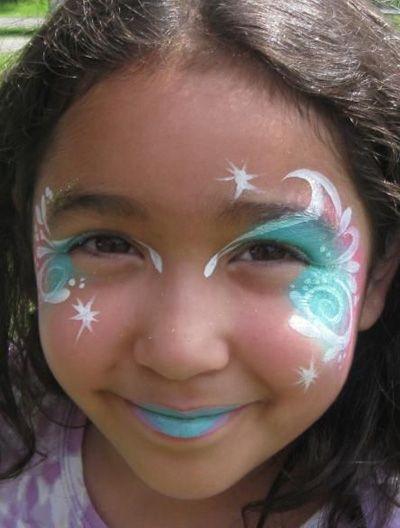 Trucco del viso per Carnevale per bambini da Fata n.7