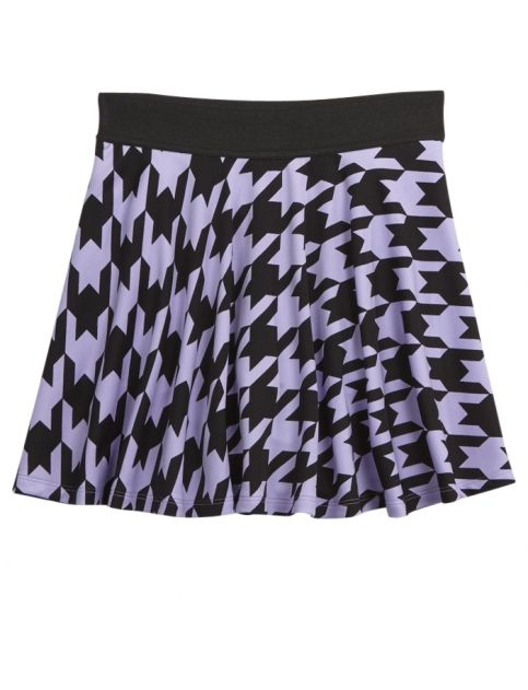 Skater skirts Printed and Shop justice on Pinterest