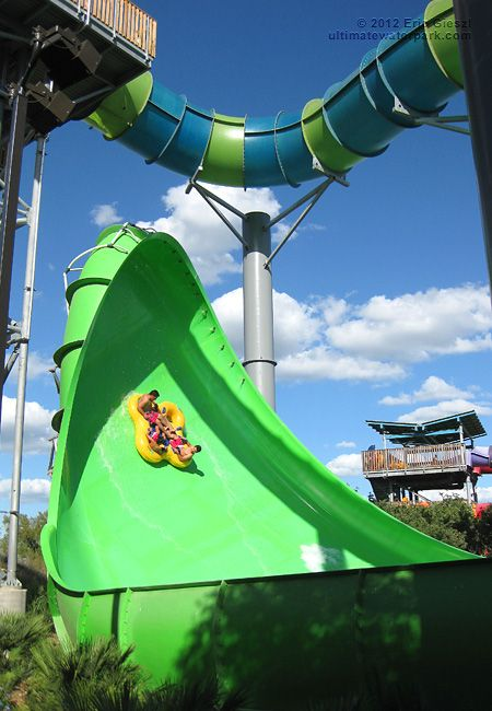 The Brand New Walhalla Wave Tube Ride At Seaworld S Newest