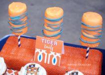 Auburn Tailgate Football Party Ideas #wareagletailgating #auburn #football #tailgate #party