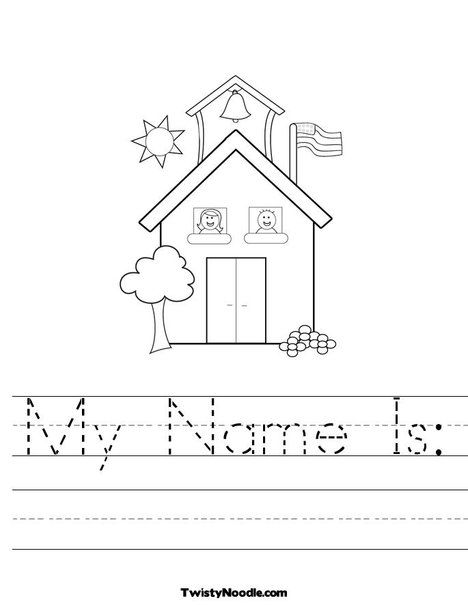 student name coloring pages - photo#24
