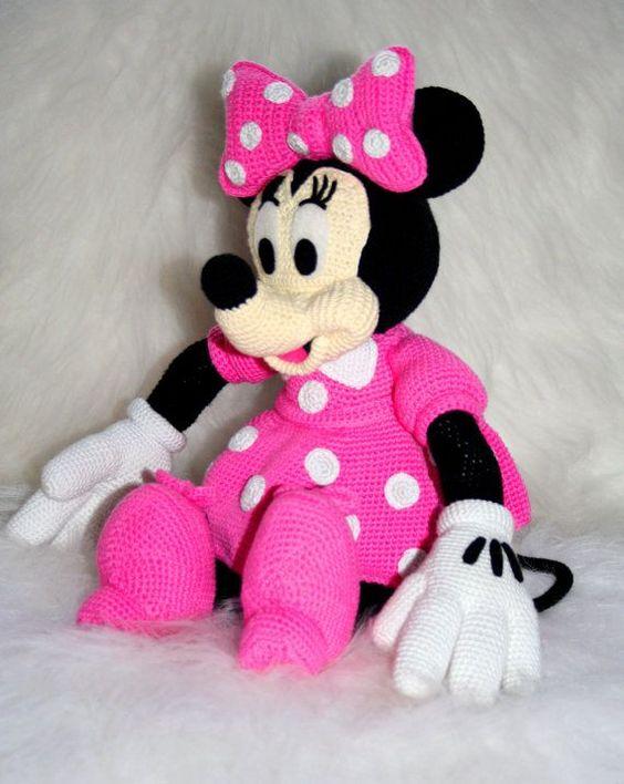 Free Amigurumi Mouse Pattern : Minnie mouse amigurumi free pattern crochet do it