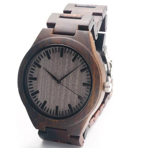 PWMW Stylish Premium Quality Wood Watch Classic Luxury Sporty Retro