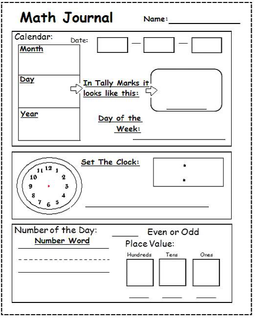 Printables Morning Math Worksheets setting up your classroom 9 practical things you may not have i use saxon math and created this piece based on several other morning worksheets i
