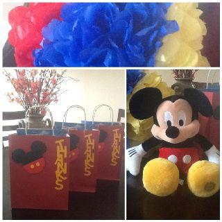 Mickey Mouse DIY decor!!