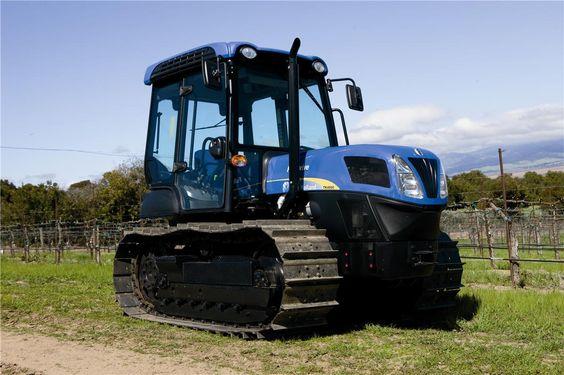 New Holland crawler tractors