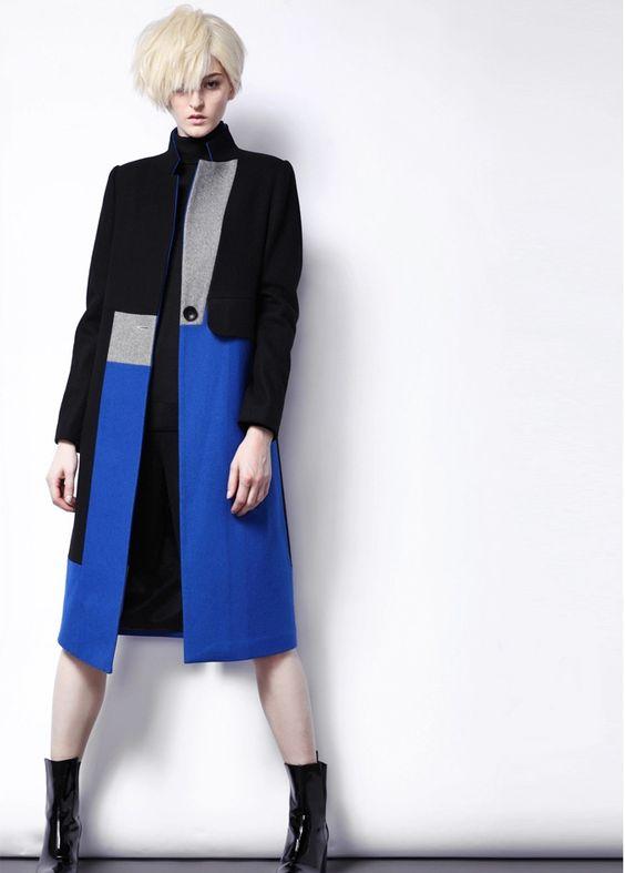 D-Lithium Square / Black and Blue Coat