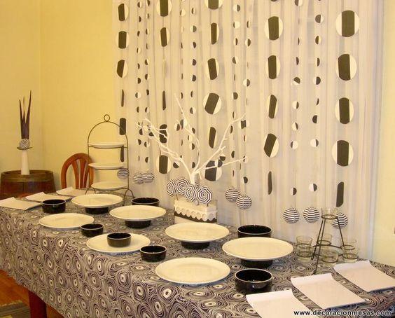 Decoracion de mesas mesa cumplea os tipo buffet - Tipos de mesas ...