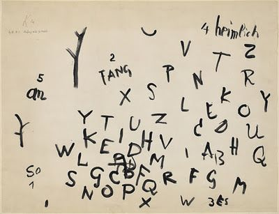 invisiblestories:    Paul Klee, Beginning of a Poem (viaspurloser)