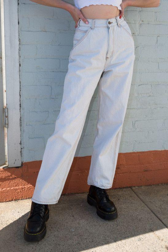 Talia Light Wash Cargo Jeans Basics Cargo Jeans Carpenter