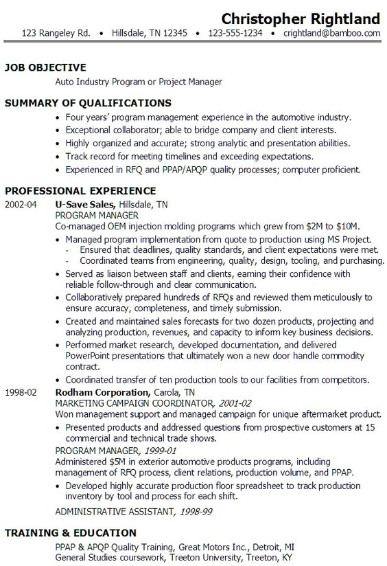 portfolio manager resume sample portfolio manager resume example