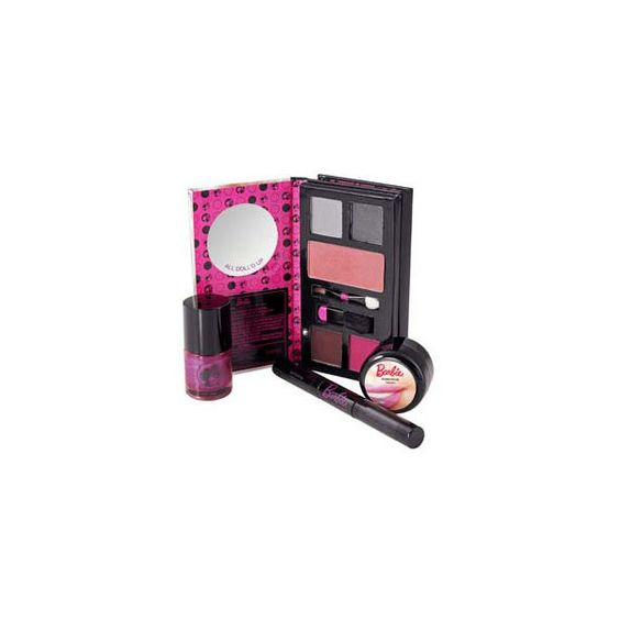 Barbie Make Up - MAC Palette ❤ liked on Polyvore featuring beauty products, makeup, barbie and palette makeup