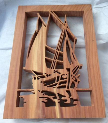 finished sailboat