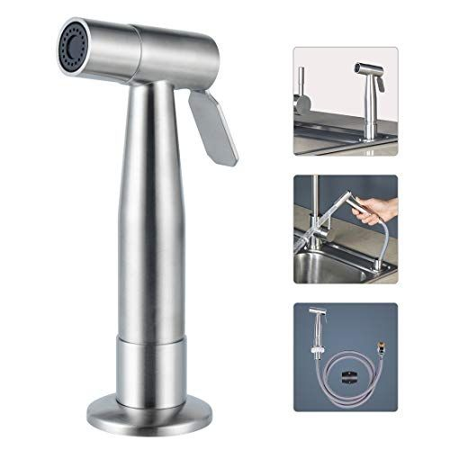 Lyty Stainless Steel Kitchen Faucet Side Sprayer Head And Hose
