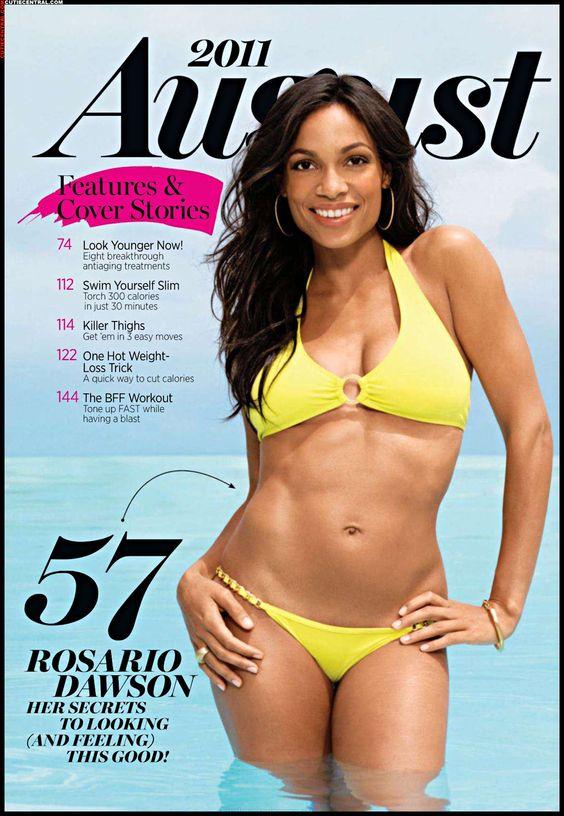 Rosario dawson, Rosario and Yellow bikini on Pinterest