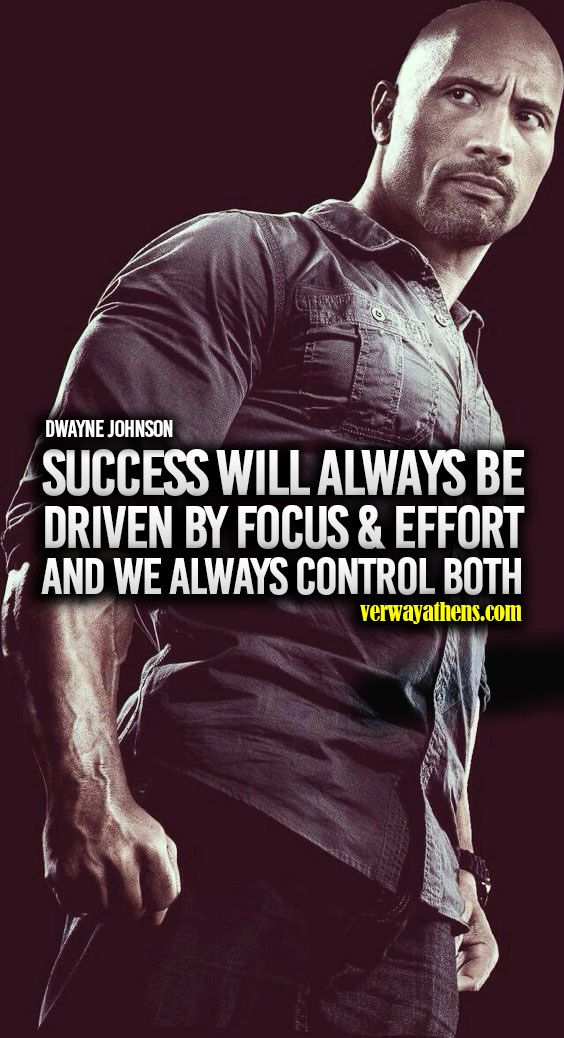 Success Will Always Be By Focus Effort And We Always Control Both Dwayne Johnson Dwayne Johnson Inspirational Quotes Dwayne The Rock Dwayne johnson quote wallpaper 1920x1080