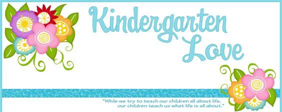 Welcome to Kindergarten Love