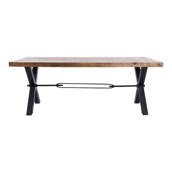 Nolan Cross Leg Dining Table 2000x1000mm Dining Tables Dining Dining Table Legs Dining Table Table