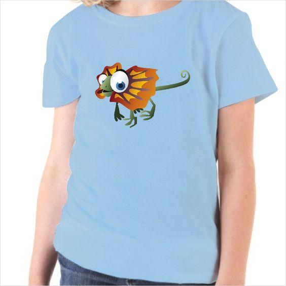 Camiseta infantil Iguana