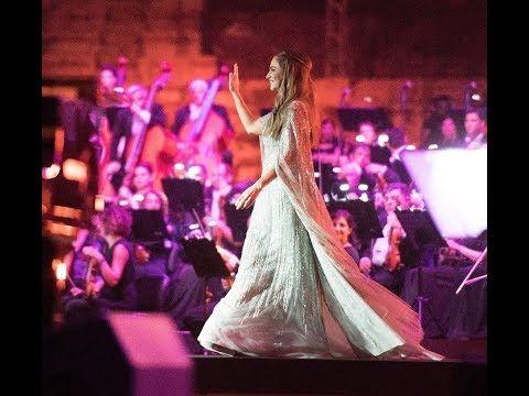 السيدة جوليا بطرس حفل صور كامل Julia Boutros Concert 2018 Youtube Olfa Concert Music