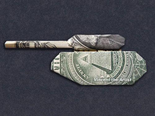 TANK Dollar Origami