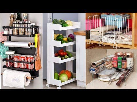 Amazon Space Saving Organizer Amazon Kitchen Household Item Kitchen Organizer Amazon Racks Shelves Yo In 2020 Kitchen Organization Rack Shelf Kitchen Organizer Rack