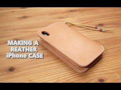レザークラフト Iphoneケースの作り方 型紙付き Leather Craft Making A Iphone Case Youtube レザークラフト Iphoneケース 手作り レザークラフト 型紙
