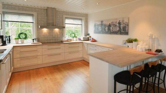 Dette #kjøkkenet har blitt lyst og pent etter et strøk #maling og ...